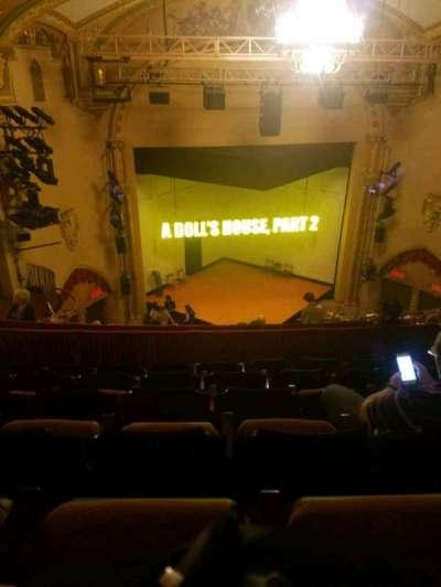 John Golden Theatre, Abschnitt: rear mezz, Reihe: f, Platz: 113