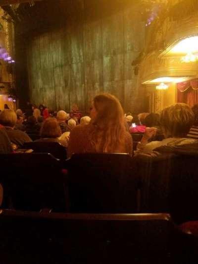 Bernard B. Jacobs Theatre, Abschnitt: orchestra, Reihe: n, Platz: 26