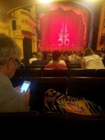 Hudson Theatre, Abschnitt: orchestra, Reihe: R, Platz: 11