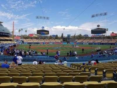 Dodger Stadium, Abschnitt: 4fd, Reihe: P, Platz: 9