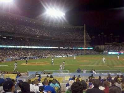 Dodger Stadium, Abschnitt: 18FD, Reihe: O, Platz: 1