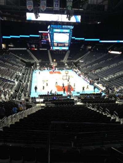 Philips arena, Abschnitt: 220, Reihe: E, Platz: 5