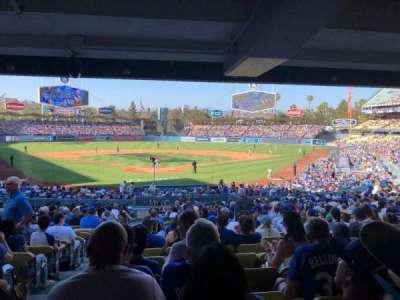 Dodger Stadium, Abschnitt: 2FD, Reihe: DR, Platz: 1