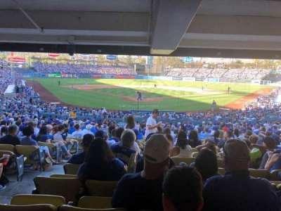 Dodger Stadium, Abschnitt: 2DL, Reihe: DR, Platz: 1