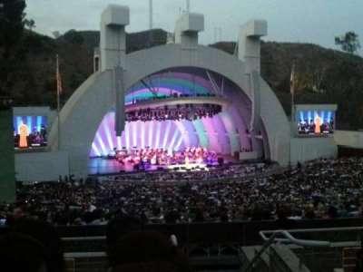 Hollywood Bowl, Abschnitt: K2, Reihe: 6, Platz: 101