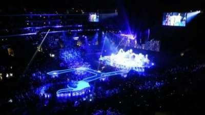 Staples Center, Abschnitt: 304, Reihe: 1, Platz: 14