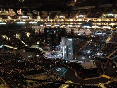 Staples Center, Abschnitt: 316, Reihe: 1, Platz: 1