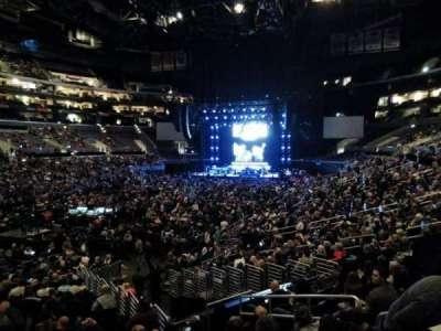 Staples Center, Abschnitt: 205, Reihe: 1, Platz: 3