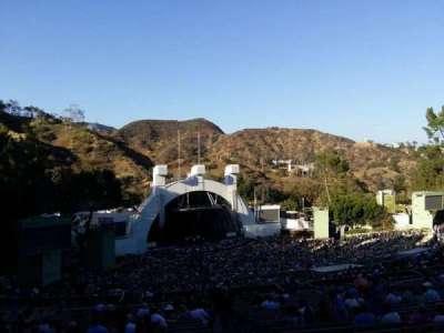 Hollywood Bowl, Abschnitt: U2, Reihe: 2, Platz: 2
