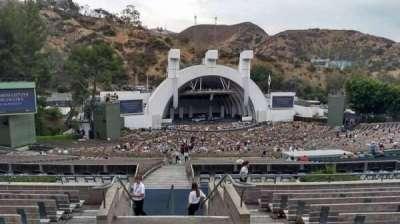 Hollywood Bowl, Abschnitt: P1, Reihe: 9, Platz: 2