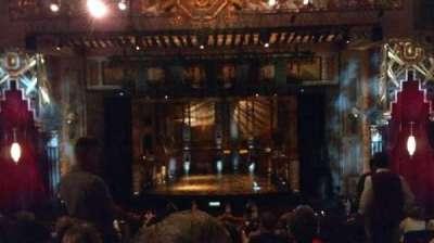 Pantages Theatre (Hollywood), Abschnitt: Mezz Center, Reihe: F, Platz: 102