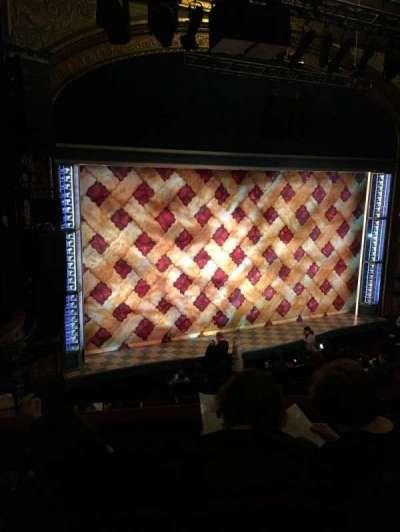 Brooks Atkinson Theatre, Abschnitt: Fmezz, Reihe: D, Platz: 15