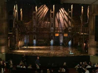 CIBC Theatre, Abschnitt: Dress Circle C, Reihe: A, Platz: 210