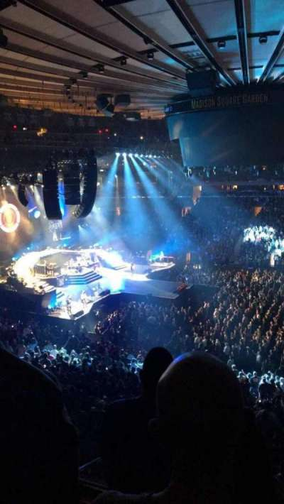 Madison Square Garden, Abschnitt: 225, Reihe: 3, Platz: 5