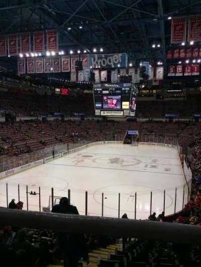Joe Louis Arena, Abschnitt: 227B, Reihe: 1, Platz: 15