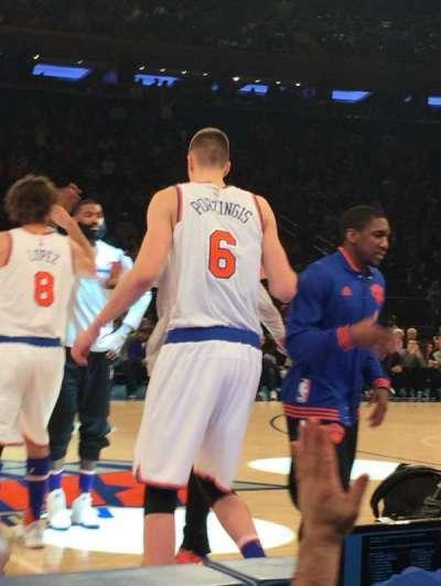 Madison Square Garden, Abschnitt: 5, Reihe: 2, Platz: 4