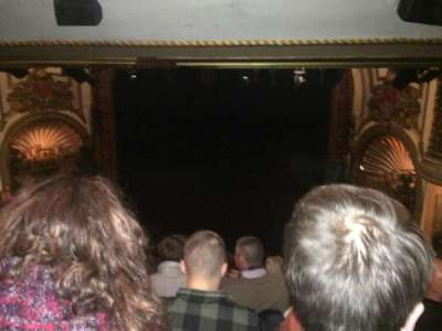 Palace Theatre (Broadway), Abschnitt: Rear Center Mez, Reihe: M, Platz: 124