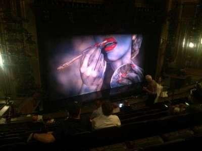 Nederlander Theatre, Abschnitt: Mezz, Reihe: H, Platz: 19