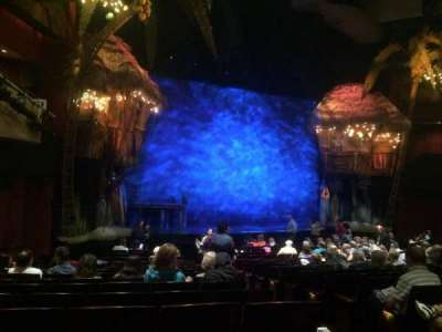 Marquis Theatre, Abschnitt: Orch Left, Reihe: R, Platz: 5