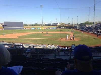 Peoria Sports Complex, Abschnitt: 205, Reihe: FF, Platz: 7