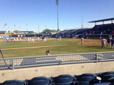Peoria Sports Complex, Abschnitt: 109, Reihe: K, Platz: 7