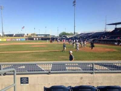 Peoria Sports Complex, Abschnitt: 107, Reihe: K, Platz: 12