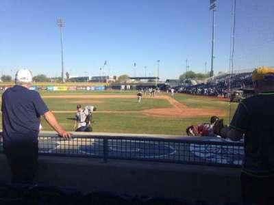 Peoria Sports Complex, Abschnitt: 105, Reihe: K, Platz: 5