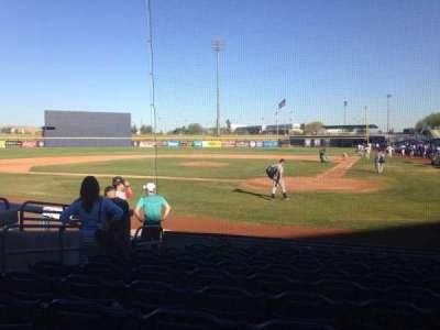 Peoria Sports Complex, Abschnitt: 103, Reihe: K, Platz: 7