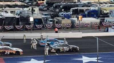Texas Motor Speedway, Abschnitt: PL422, Reihe: 23, Platz: 16