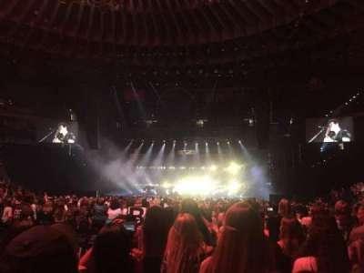 Oracle Arena, Abschnitt: D, Reihe: 10, Platz: 11