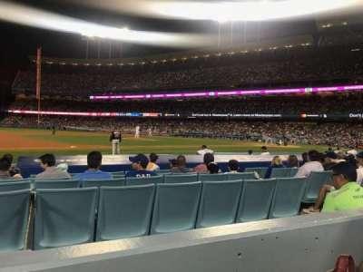 Dodger Stadium, Abschnitt: 25FD, Reihe: B, Platz: 8