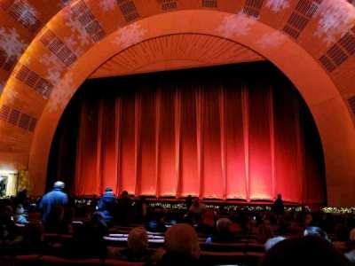 Radio City Music Hall, Abschnitt: Orchestra 3, Reihe: WW, Platz: 308-310