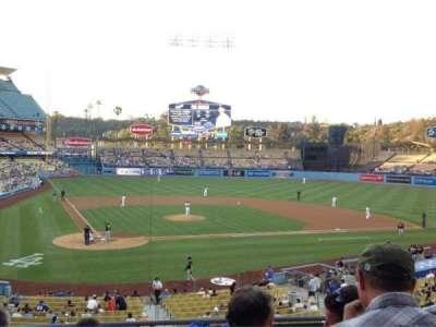Dodger Stadium, Abschnitt: 116LG, Reihe: F, Platz: 3