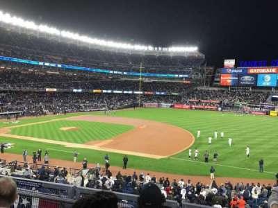 Yankee Stadium, Abschnitt: 214A, Reihe: 3, Platz: 7
