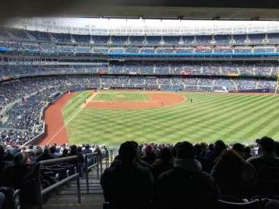 Yankee Stadium, Abschnitt: 205, Reihe: 18, Platz: 1