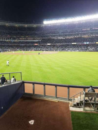 Yankee Stadium, Abschnitt: 202, Reihe: 1, Platz: 14