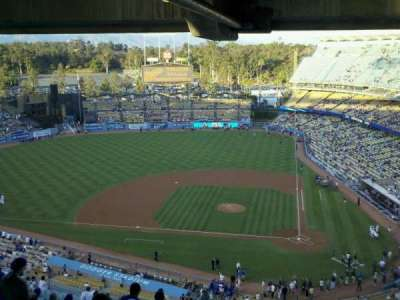 Dodger Stadium, Abschnitt: 23RS, Reihe: dd, Platz: 4