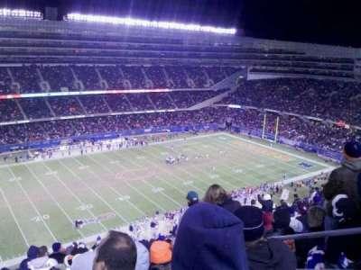 Soldier Field, Abschnitt: 441, Reihe: 20, Platz: 20