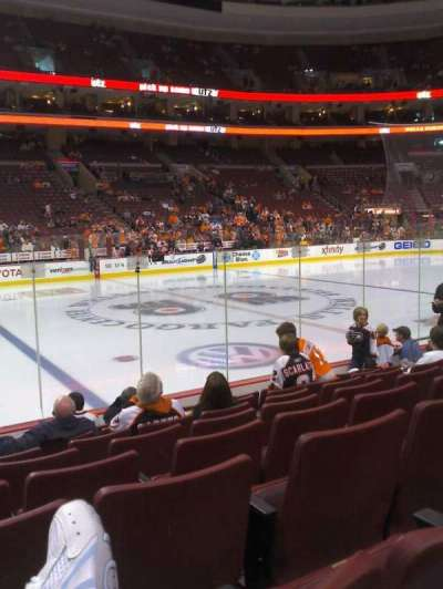 Wells Fargo Center Abschnitt 112