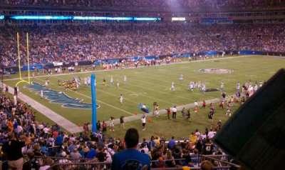 Bank of America Stadium, Abschnitt: 350, Reihe: 12, Platz: 13