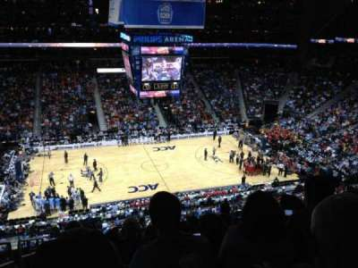 Philips Arena, Abschnitt: 311, Reihe: K, Platz: 20