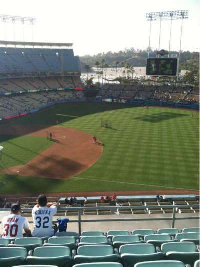 Dodger Stadium, Abschnitt: Reserve, Reihe: F, Platz: 8