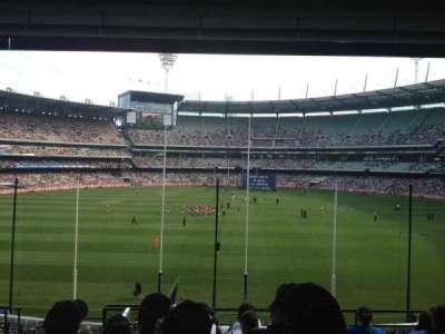 Melbourne Cricket Ground, Abschnitt: N3, Reihe: H, Platz: 13