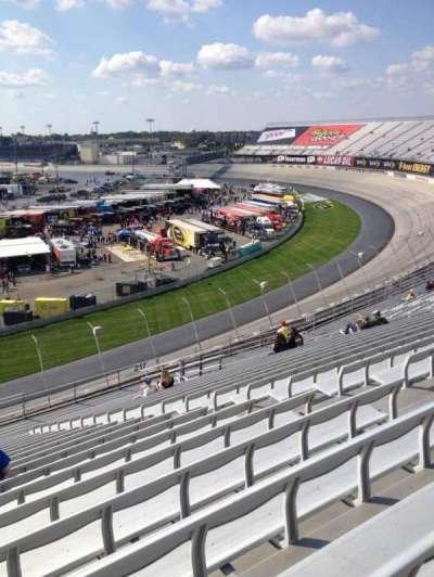 Dover International Speedway, Abschnitt: 218, Reihe: 21, Platz: 8