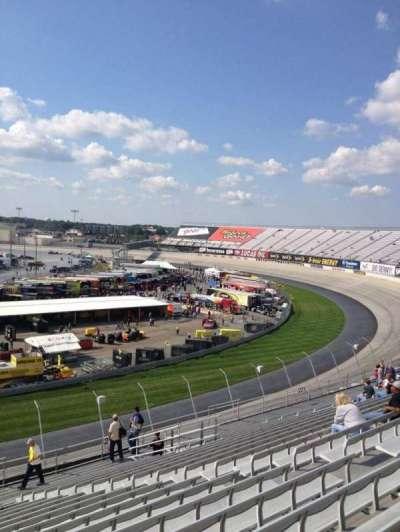 Dover International Speedway, Abschnitt: 223, Reihe: 19, Platz: 11