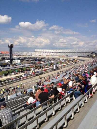 Dover International Speedway, Abschnitt: 109, Reihe: 43, Platz: 19