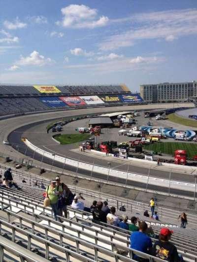 Dover International Speedway, Abschnitt: 117, Reihe: 25, Platz: 10