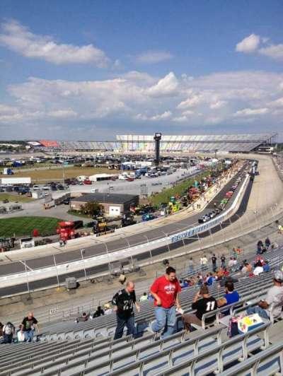 Dover International Speedway, Abschnitt: 123, Reihe: 29, Platz: 9