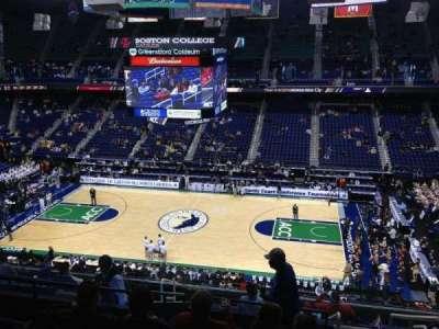 Greensboro Coliseum, Abschnitt: 212, Reihe: L, Platz: 14