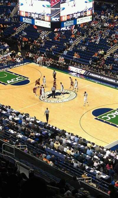 Greensboro Coliseum, Abschnitt: 235